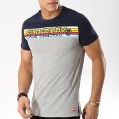 /achat-t-shirts/superdry-tee-shirt-cali-stripe-embroidery-m10104tt-gris-chine-bleu-marine-169041.html