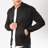 /achat-vestes/uniplay-veste-zippee-a-carreaux-uy339-noir-168920.html