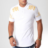 /achat-polos-manches-courtes/ikao-polo-manches-courtes-f406-blanc-169365.html