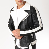 /achat-vestes-biker/mtx-veste-biker-88911-noir-blanc-169575.html