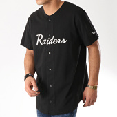 /achat-t-shirts-longs-oversize/new-era-tee-shirt-de-baseball-oakland-raiders-script-button-11859997-noir-169564.html