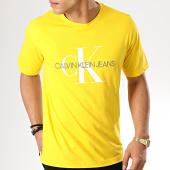 /achat-t-shirts/calvin-klein-tee-shirt-monogram-embroidery-1293-jaune-169990.html