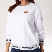 /achat-sweats-col-rond-crewneck/ellesse-sweat-crewneck-femme-1076n-blanc-169932.html