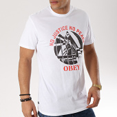 /achat-t-shirts/obey-tee-shirt-no-justice-no-peace-fist-blanc-170259.html