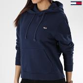 /achat-sweats-capuche/tommy-hilfiger-jeans-sweat-capuche-femme-classics-6582-bleu-marine-170091.html