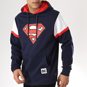 /achat-sweats-capuche/superman-sweat-capuche-shoulder-bleu-marine-170473.html