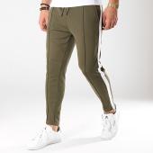 /achat-pantalons-joggings/only-and-sons-pantalon-jogging-a-bandes-owen-vert-kaki-blanc-170364.html