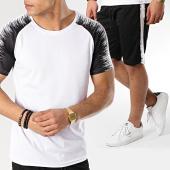 /achat-ensembles-survetement/zayne-paris-ensemble-tee-shirt-short-jogging-tx-179-blanc-noir-170354.html