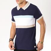 /achat-polos-manches-courtes/american-people-polo-manches-courtes-squiz-bleu-marine-blanc-beige-bleu-clair-170562.html