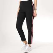 /achat-pantalons-carreaux/tiffosi-pantalon-femme-avec-bandes-trapani-noir-170728.html