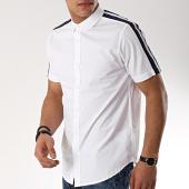 /achat-chemises-manches-courtes/brave-soul-chemise-manches-courtes-avec-bandes-kyleo-blanc-170812.html