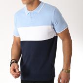 /achat-polos-manches-courtes/brave-soul-polo-manches-courtes-ormskirk-bleu-marine-blanc-bleu-clair-170813.html