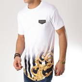 /achat-t-shirts-longs-oversize/gianni-kavanagh-tee-shirt-oversize-fade-baroque-and-stripes-blanc-renaissance-degrade-170854.html
