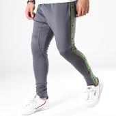 /achat-pantalons-joggings/gianni-kavanagh-pantalon-jogging-avec-bandes-gris-vert-170855.html