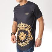 /achat-t-shirts-longs-oversize/gianni-kavanagh-tee-shirt-oversize-daisy-baroque-noir-renaissance-170860.html