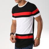 /achat-t-shirts-longs-oversize/mtx-tee-shirt-oversize-tricolore-m1826-noir-blanc-rouge-170745.html