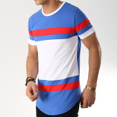 /achat-t-shirts-longs-oversize/mtx-tee-shirt-oversize-tricolore-m1826-bleu-roi-blanc-rouge-170746.html
