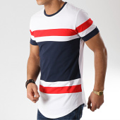 /achat-t-shirts-longs-oversize/mtx-tee-shirt-oversize-tricolore-m1826-blanc-bleu-marine-rouge-170747.html