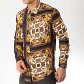 /achat-chemises-manches-longues/mtx-chemise-manches-longues-tm0031-noir-blanc-renaissance-170752.html