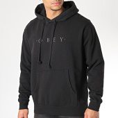/achat-sweats-capuche/obey-sweat-capuche-novel-pigment-noir-argente-170790.html