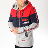 /achat-sweats-zippes-capuche/superdry-sweat-zippe-capuche-a-bandes-applique-oversized-nu-lad-rouge-bleu-marine-gris-chine-170767.html