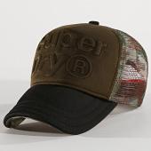 /achat-trucker/superdry-casquette-trucker-trio-m90018mt-vert-kaki-camouflage-noir-170789.html