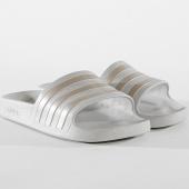 /achat-claquettes-sandales/adidas-claquettes-femme-adilette-aqua-f35531-gris-170992.html