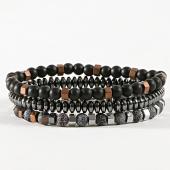 /achat-bracelets/classic-series-lot-de-3-bracelets-29-noir-argente-171044.html
