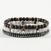 /achat-bracelets/classic-series-lot-de-3-bracelets-33-blanc-noir-argente-171045.html
