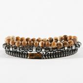 /achat-bracelets/classic-series-lot-de-3-bracelets-30-argente-beige-noir-171048.html