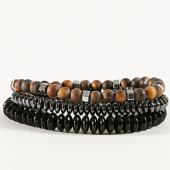 /achat-bracelets/classic-series-lot-de-3-bracelets-25-noir-marron-argente-171051.html