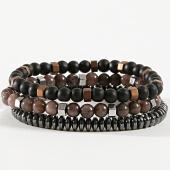 /achat-bracelets/classic-series-lot-de-3-bracelets-23-marron-noir-argente-171053.html