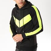/achat-sweats-zippes-capuche/frilivin-sweat-zippe-capuche-a-bandes-6080-noir-jaune-fluo-170941.html