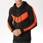 /achat-sweats-zippes-capuche/frilivin-sweat-zippe-capuche-a-bandes-6080-noir-orange-170944.html