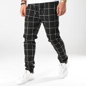 /achat-pantalons-carreaux/frilivin-pantalon-carreaux-7337-qr04-noir-blanc-170954.html