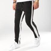 /achat-pantalons-joggings/frilivin-pantalon-jogging-a-bandes-1554-noir-blanc-170978.html