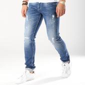 /achat-jeans/le-temps-des-cerises-jean-slim-711-aric-bleu-denim-171011.html