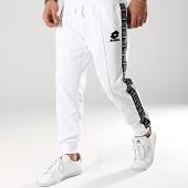 /achat-pantalons-joggings/lotto-pantalon-jogging-avec-bandes-athletica-ii-210880-blanc-noir-171023.html