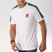 /achat-t-shirts/lotto-tee-shirt-avec-bandes-athletica-ii-210873-blanc-171025.html