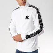 /achat-vestes/lotto-veste-zippee-avec-bandes-athletica-ii-210876-blanc-noir-171030.html