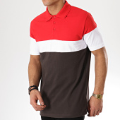 /achat-polos-manches-courtes/sky-rebel-polo-manches-courtes-h1704l21086a-gris-anthracite-rouge-blanc-170977.html