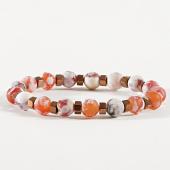 /achat-bracelets/classic-series-bracelet-14-blanc-orange-marbre-171069.html
