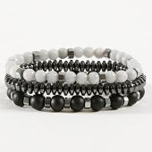 /achat-bracelets/classic-series-lot-de-3-bracelets-18-noir-gris-argente-171074.html