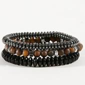 /achat-bracelets/classic-series-lot-de-3-bracelets-26-noir-marron-argente-171077.html