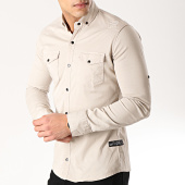 /achat-chemises-manches-longues/classic-series-chemise-manches-longues-16421-beige-171091.html