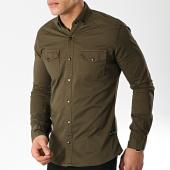 /achat-chemises-manches-longues/classic-series-chemise-manches-longues-16421-vert-kaki-171107.html