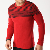 /achat-pulls/classic-series-pull-3205-rouge-noir-171167.html