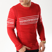 /achat-pulls/classic-series-pull-3207-rouge-blanc-171176.html
