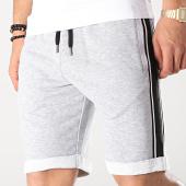 /achat-shorts-jogging/lbo-short-jogging-avec-bandes-noir-658-gris-chine-171266.html