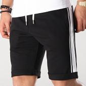 /achat-shorts-jogging/lbo-short-jogging-avec-bandes-blanches-660-noir-171267.html